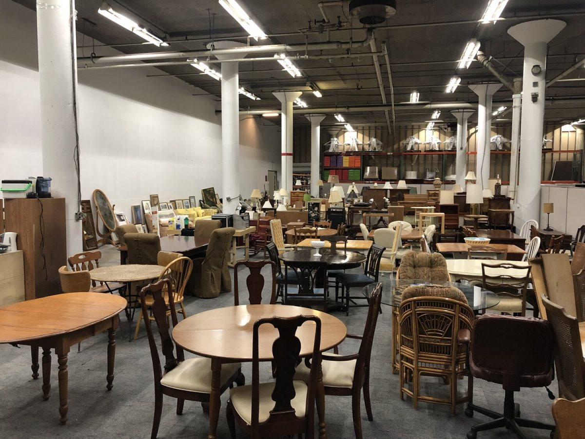 Drop your Furniture at our Warehouse
